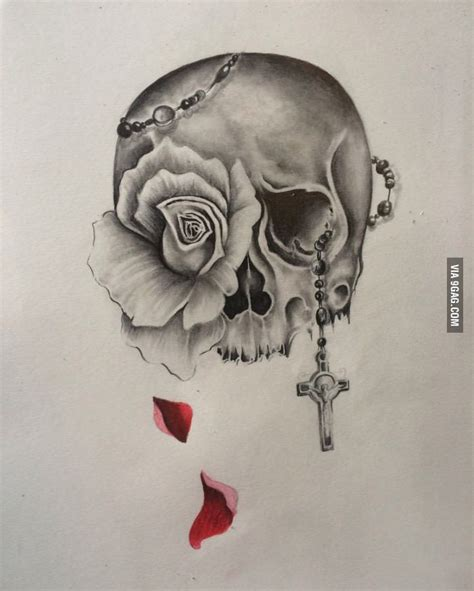 tattoo design rose and skull 220 ber 1 000 ideen zu totenkopf tattoo auf pinterest