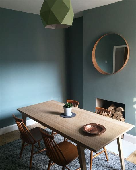 oval room dining room colour oval room blue table unto this last farrowandball diningroom