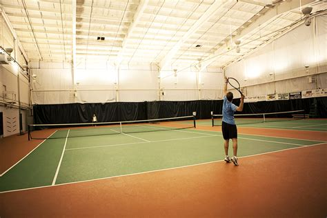 indoor tennis courts facilities spa total fitness circuit training hiit