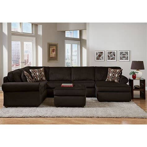 value city living room furniture monarch upholstery 3 pc sectional value city furniture http www valuecityfurniture