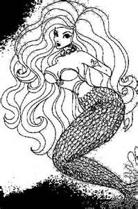free printable mermaid coloring pages kids