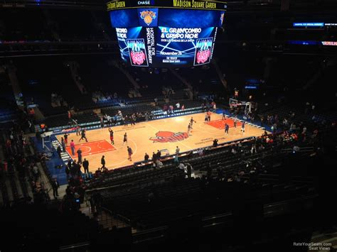 msg section 209 madison square garden section 209 new york knicks