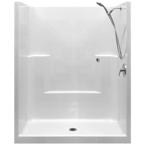 Shower Is Low by Standard Valve Kit One Low Threshold Shower Acrylx