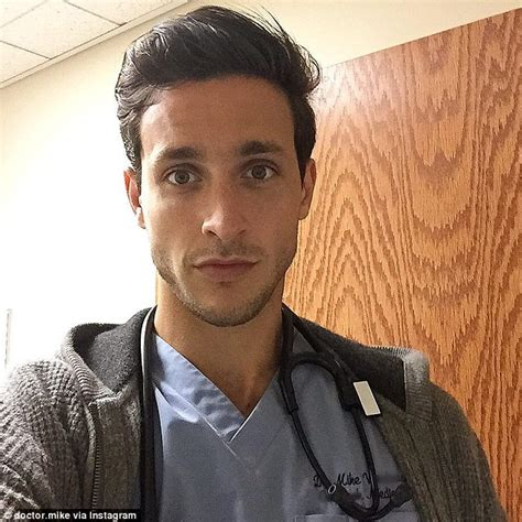 Hot Doctor Meme - new york dr mike becomes an instagram star daily mail