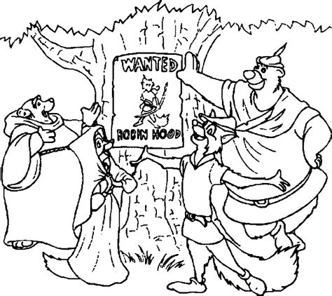 printable coloring pages robin hood free coloring pages of robin hood pic