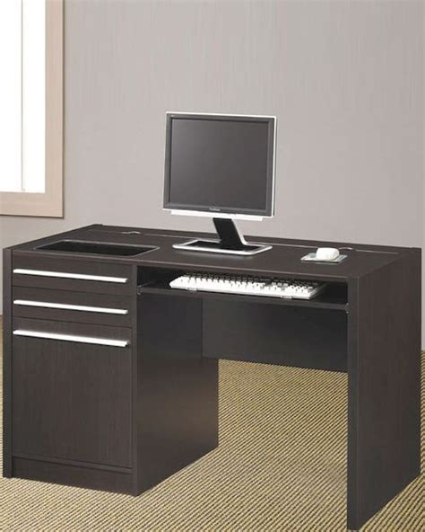 Contemporary Computer Desk Ontario Contemporary Computer Desk With Charging Station Co800702