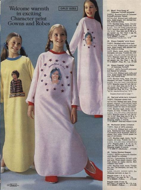 Wonderful Sears Christmas Catalog #4: 10.%2BCelebrity%2BSleepwear.jpg