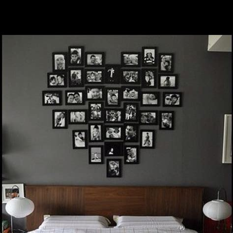 photo frame ideas for walls photo frame wall arrangement idea photo decor
