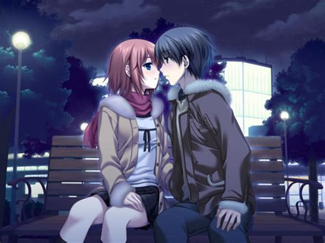 Film Anime Ciuman | kumpulan gambar anime romantis cute ciuman belajar