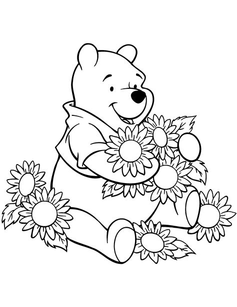 Winnie The Pooh Coloring Pages Coloring Kids Winnie The Pooh Coloring Pages