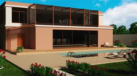 villa exterior 3d model 40 complete success clipgoo villa floor coridor 3d model turbosquid 1154643