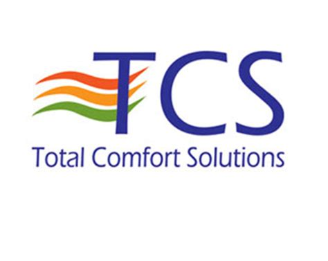 total comfort solutions logo design for total control solutions