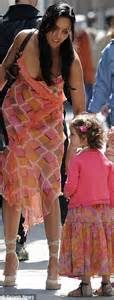 Dress Baby Tile Two Flower Pink just like padma lakshmi and mini me