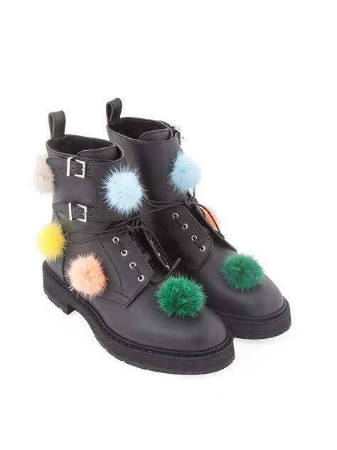 fendi pom pom boots   montiboutiquecom