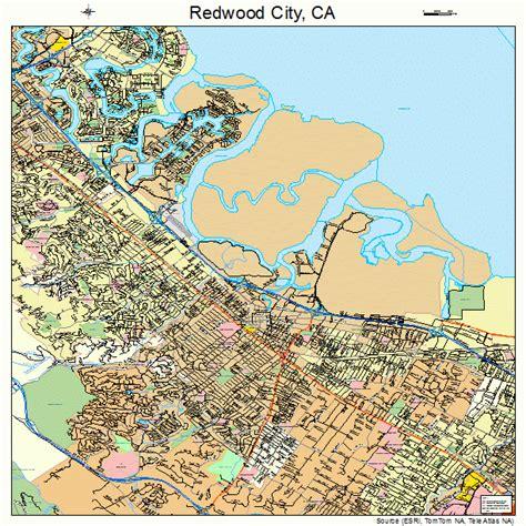 california map redwood city redwood city california map 0660102