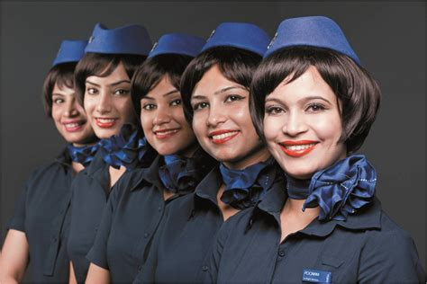 Cabin Crew Indigo indigo goes for a chic and look in cabin crew makeover