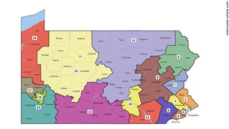 Pennsylvania Judiciary Search By Name Court Releases New Pennsylvania Congressional Maps Cnnpolitics