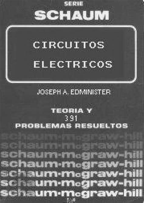 DESCARGAR CIRCUITOS ELECTRICOS EDMINISTER PDF