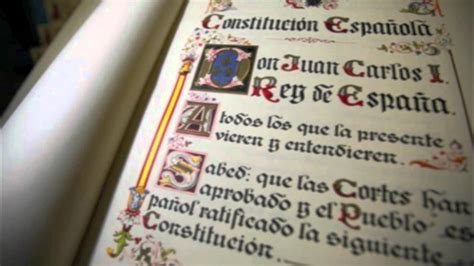 constitucin espaola la constituci 243 n espa 241 ola de 1978 ceip san walabonso youtube