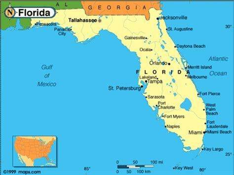 florida interactive map florida maps florida review and travel guide