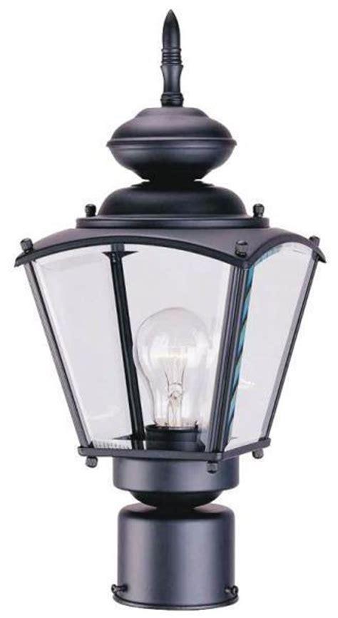 Lighting Fixtures Boston New Boston Harbor 4691820 Black Glass Panel Outdoor Post Lantern Light Fixture Ebay
