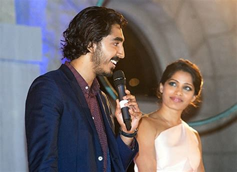 Freida pinto et dev patel marriage bureau