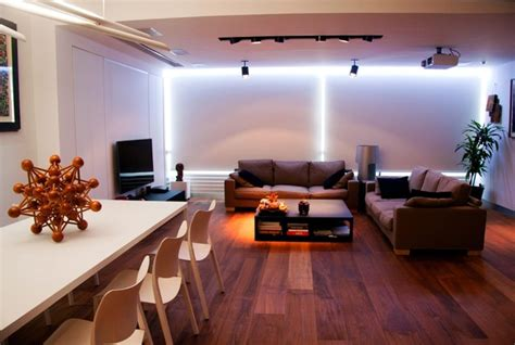 led living room lighting living room with indirect recessed led light modern