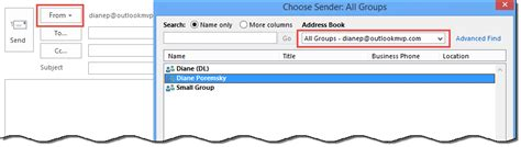 Office 365 Mail Select All Send Messages Using Additional Office 365 Exchange Addresses