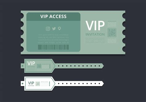 Vip Pass Card Template by Vip Pass Id Card Or Ticket Template Vip Pass For Event