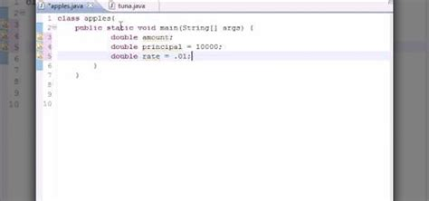 simple java swing program how to build a simple compound interest program in java