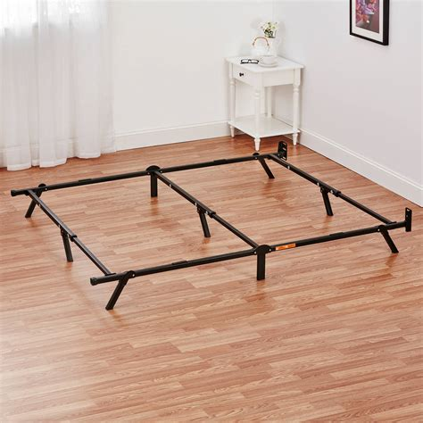 metal bed frame full size adjustable metal bed frame twin full queen size platform bedroom foundation new