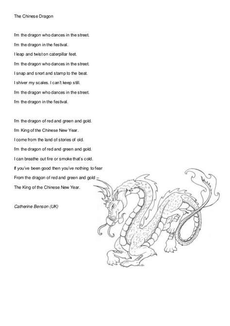 new year poems about dragons shared poems celebrations