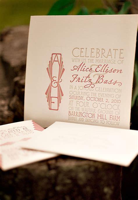 deco wedding invitation deco maple letterpress wedding invitations invitation crush