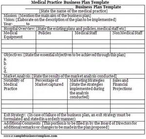 Medical Practice Business Plan Template Free Business Plan Outline Sample 171 Free Business