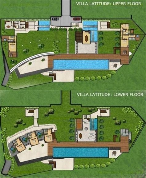 latitude floor plan rent villa latitude in uluwatu from bali luxury villas
