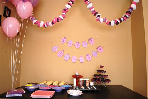 bday party decorations at home home design birthday party decorations lotlaba birthday