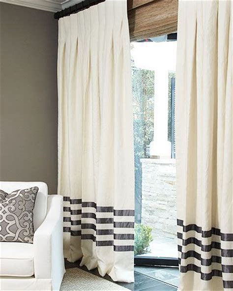 pull drapes linens hotels and box pleats on pinterest