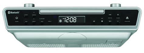 under kitchen cabinet radio cd player sylvania skcr2713 under kitchen counter cd player with