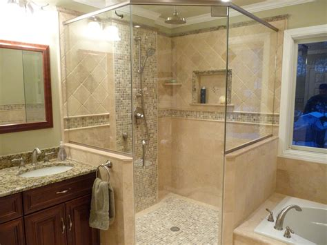 bathroom shower wall ideas 25 interesting pictures of pebble tile ideas for bathroom