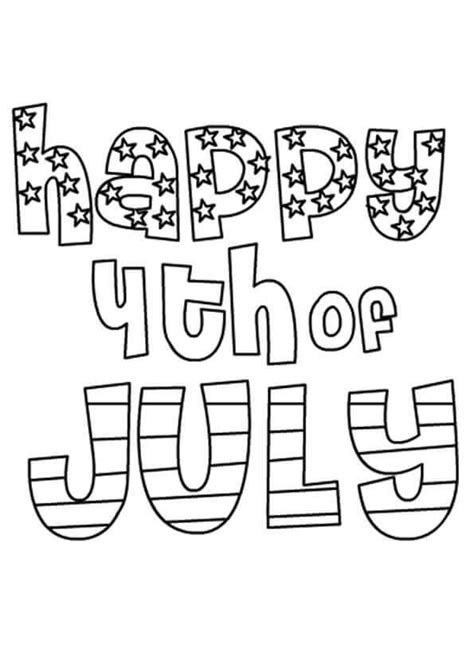 fourth of july coloring pages free printable 4th of july coloring pages