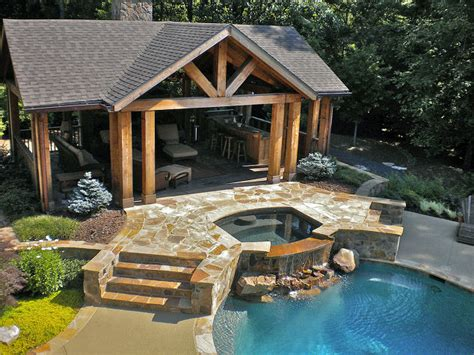pool cabana plans that are perfect for relaxing and this outdoor living space provides the perfect spot for