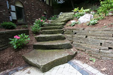 steps new leaf landscaping