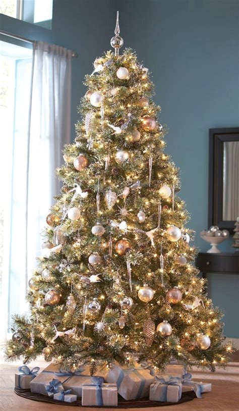 17 best ideas about gold christmas tree on pinterest