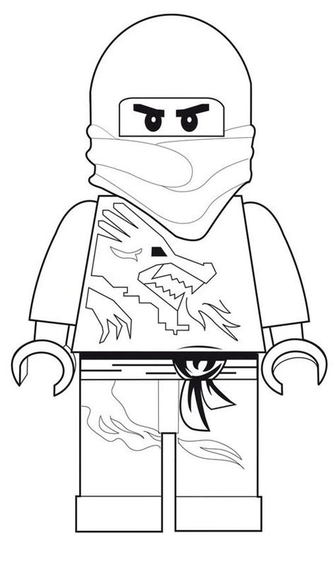 lego ninjago ausmalen coloring pages