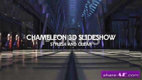 Chameleon 3d Slideshow After Effects Template Pond5 Free Download Templates Descargar Gratis 3d Photos Slideshow After Effects Template