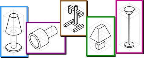 Isometric Desk Exercises by Sketching An Isometric Projection Design And Technology