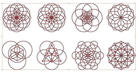 vector geometry tutorial sacred geometry vector pack for adobe illustrator
