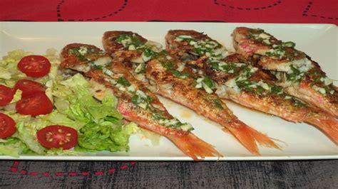 www youtube recetas de cocina salmonetes a la plancha recetas de cocina youtube