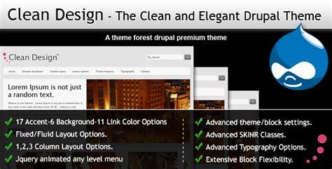 drupal themes clean clean design the clean and elegant drupal theme