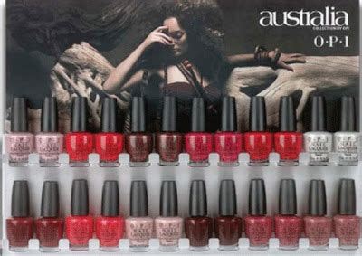 Opi Australia Collection by Opi Australia Nail Collection All Lacquered Up